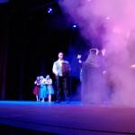 Benjamin Urich – Prince Phillip, Sharon S Fernandes – Maleficent, Nikki Meeres – Merryweather, Seanna Quinn – Fauna, Cassidy Bazar – Flora, Goons