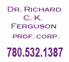 Dr. Richard C.K Ferguson Grande Prairie Logo