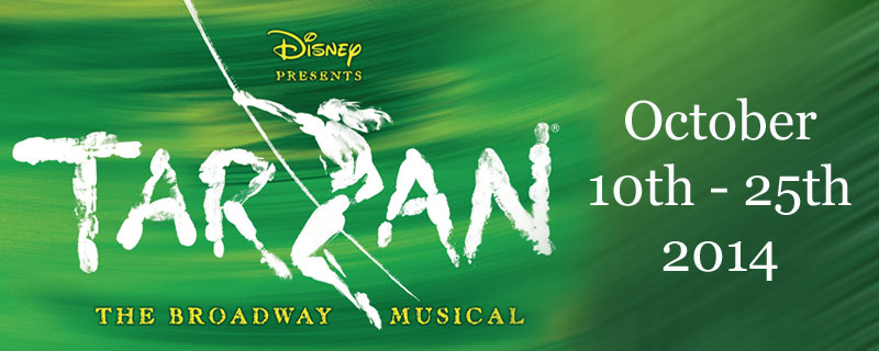 Tarzan the Musical, coming to Grande Prairie in 2014